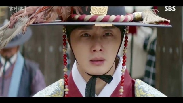 Jung Il-woo in Haechi Episode 19 (37-38) Cr. SBS. 61