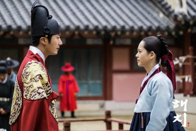 Jung Il-woo in Haechi Episode 19 (37-38) Website & BTS Photos. Cr. SBS. 3