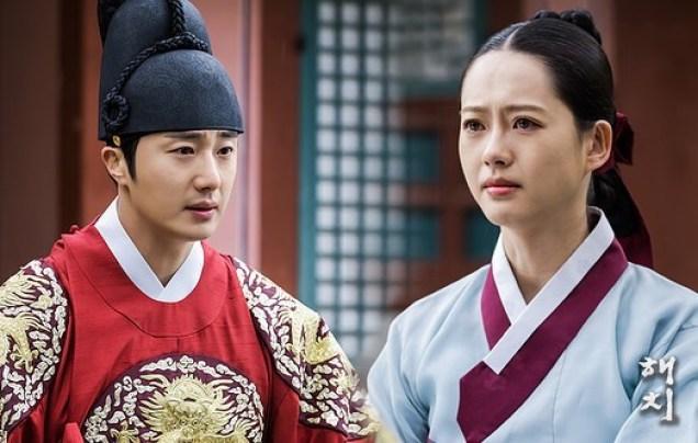 Jung Il-woo in Haechi Episode 19 (37-38) Website & BTS Photos. Cr. SBS. 9