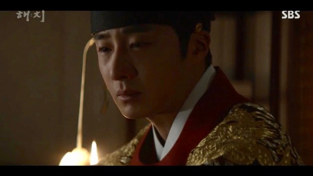 Jung Il-woo in Haechi Episode 20 (39-40) Cr. SBS 17