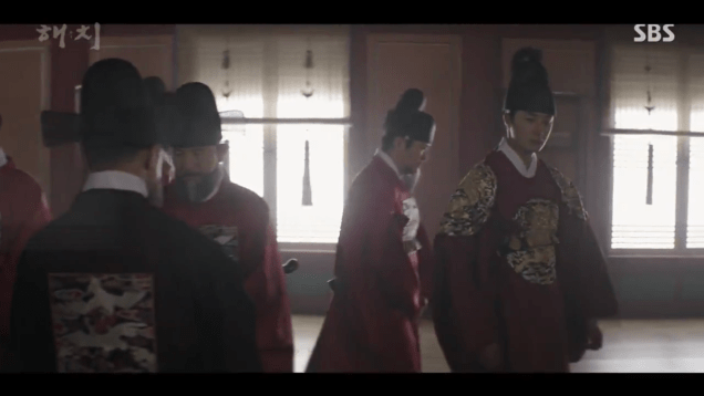 Jung Il-woo in Haechi Episode 20 (39-40) Cr. SBS 49