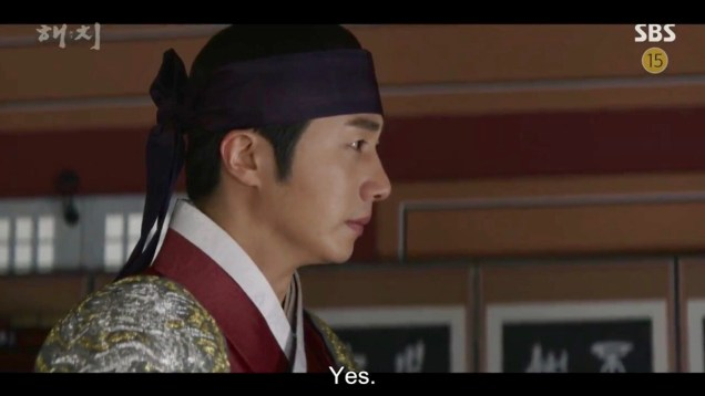 Jung Il-woo in Haechi Episode 21 (41-42) Cr. SBS. 42