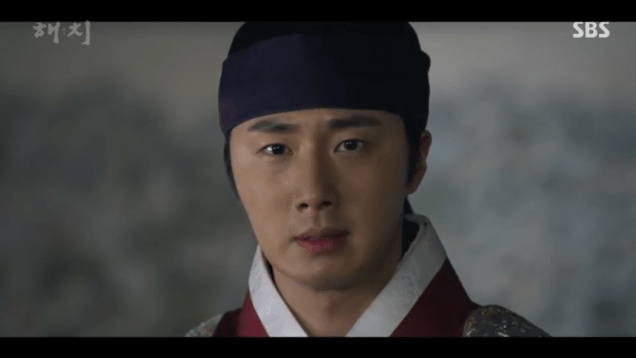 Jung Il-woo in Haechi Episode 21 (41-42) Cr. SBS. 7