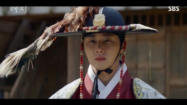 Jung Il-woo in Haechi Episode 21 (41-42) Cr. SBS. 72