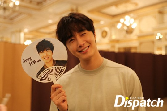 2016 8 12 Jung Il-woo for Starcast Naver. Cinderella and the Four Knights Production Conference. 42.jpg