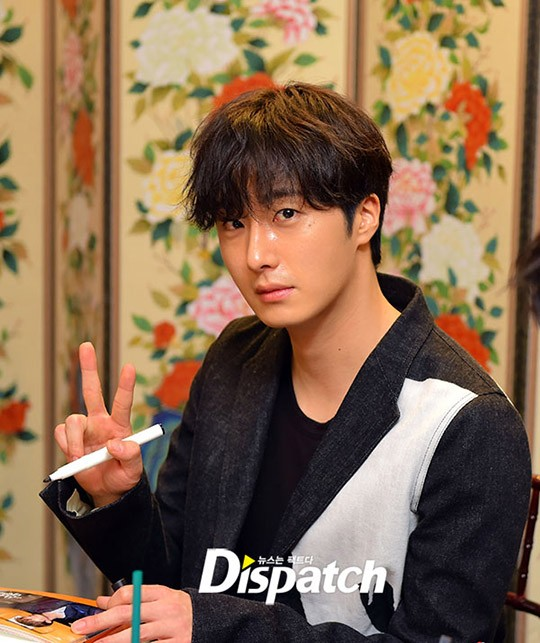 2016 8 12 Jung Il-woo for Starcast Naver. Cinderella and the Four Knights Production Conference. 50.jpg