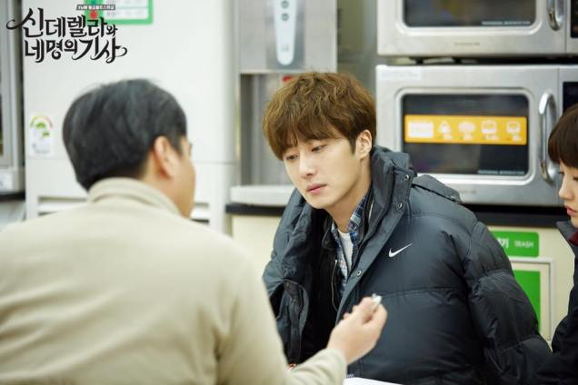 2016 Jung Il-woo in Cinderella and the Four Knights. Behind the Scenes. Extras. Cr. tvN 4