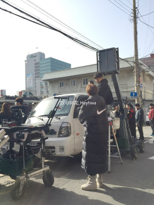 2016 Jung Il-woo in Cinderella and the Four Knights. Behind the Scenes. Fans. Cr. tvN 10