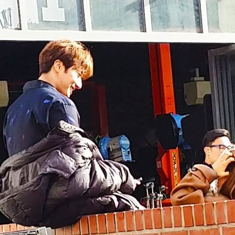 2016 Jung Il-woo in Cinderella and the Four Knights. Behind the Scenes. Fans. Cr. tvN 3