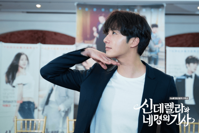 2016 Jung Il-woo in Cinderella and the Four Knights. Behind the Scenes. Website. Cr. tvN 5