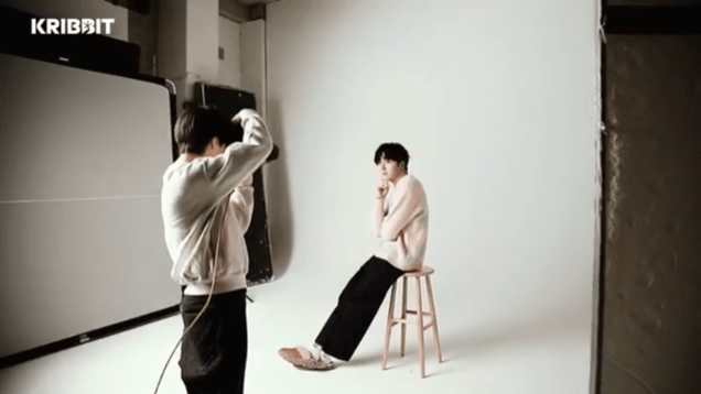 2018 3 19 Jung Il-woo and Na Mun-hee in Kribbit's photo shoot. 13