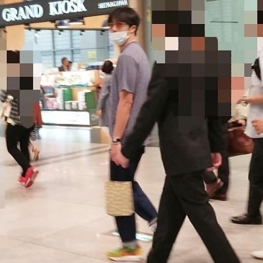 2019 5 25 Jung Il-woo arrives at Osaka. 1