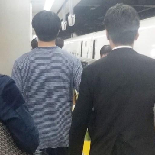 2019 5 25 Jung Il-woo arrives at Osaka. 3