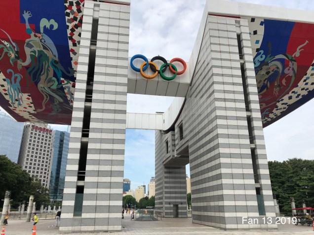 2019 Olympic Park Seoul by Fan 13.5
