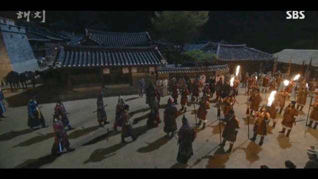 Jung Il-woo in Haechi Episode 22 (43-44) Cr. SBS 66