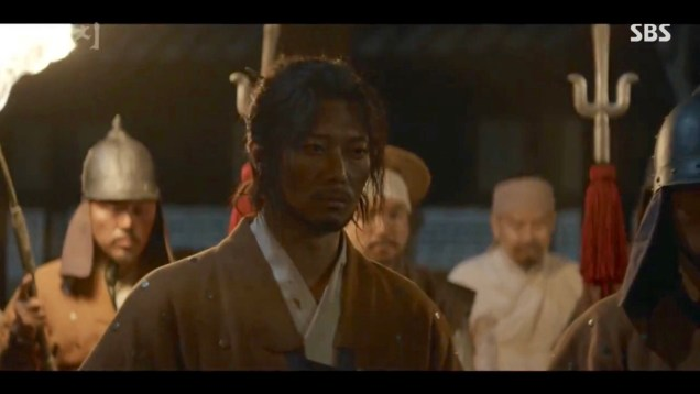Jung Il-woo in Haechi Episode 22 (43-44) Cr. SBS 70
