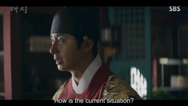 Jung Il-woo in Haechi Episode 22 (43-44) Cr. SBS 83
