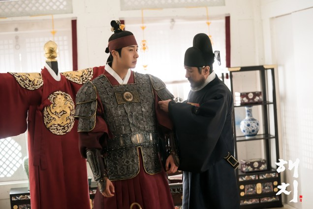 Jung Il-woo in Haechi Episode 22 (43-44) Website Photos Cr. SBS 2