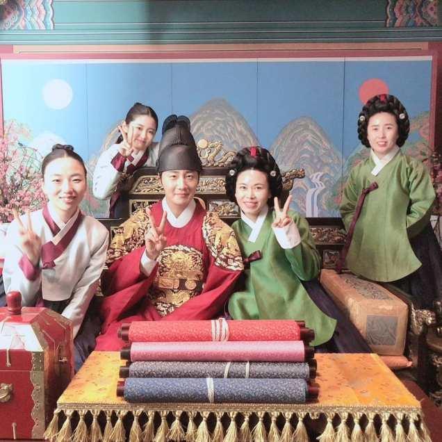 Jung Il-woo In Haechi Episode 24 (47-48) Website Photos. Behind the Scenes. Cr.SBS. 1