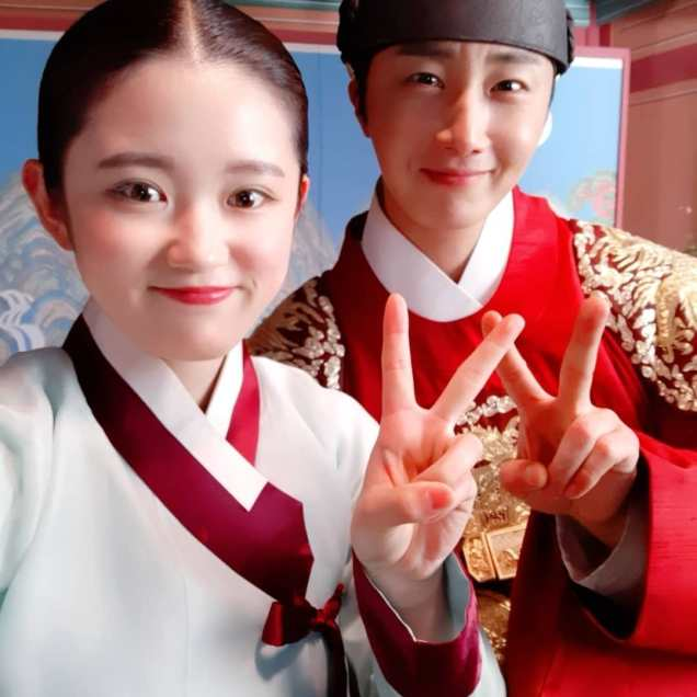 Jung Il-woo In Haechi Episode 24 (47-48) Website Photos. Behind the Scenes. Cr.SBS. 10