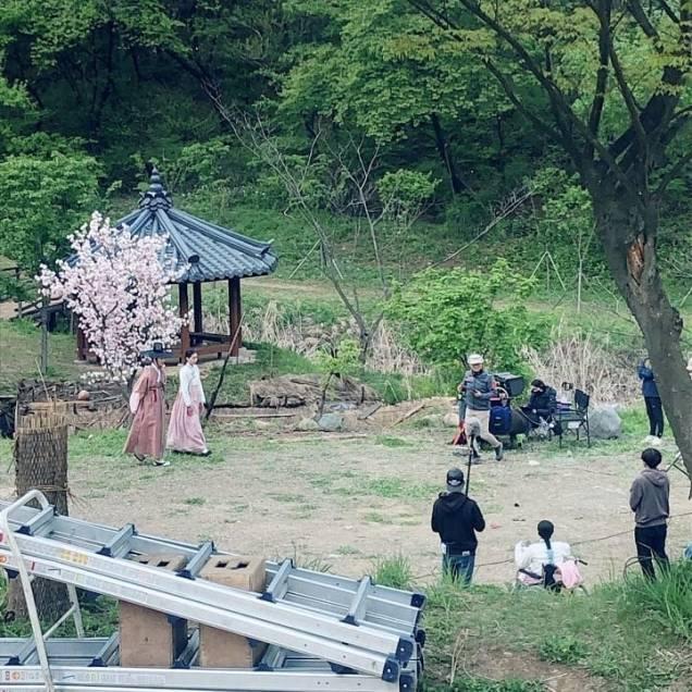 Jung Il-woo In Haechi Episode 24 (47-48) Website Photos. Behind the Scenes. Cr.SBS. 13