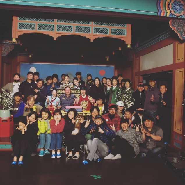 Jung Il-woo In Haechi Episode 24 (47-48) Website Photos. Behind the Scenes. Cr.SBS. 3