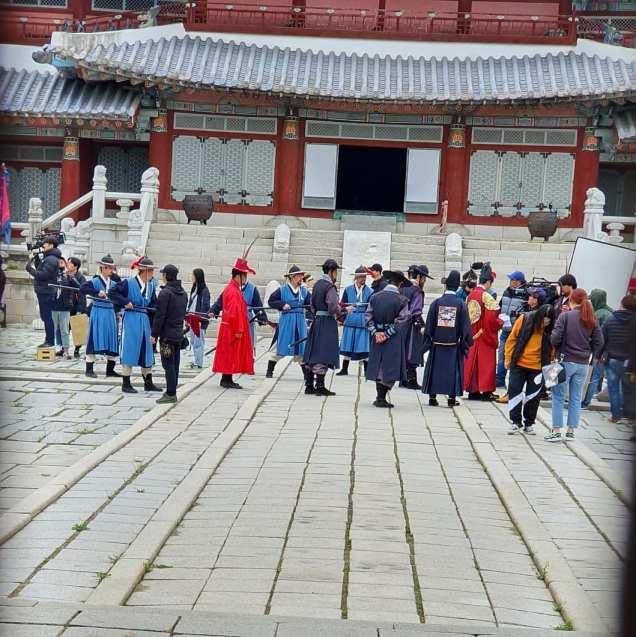 Jung Il-woo In Haechi Episode 24 (47-48) Website Photos. Behind the Scenes. Cr.SBS. 4