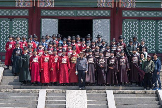 Jung Il-woo In Haechi Episode 24 (47-48) Website Photos. Behind the Scenes. Cr.SBS. 8