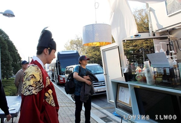 Jung Il-woo in Haechi Episode 24. Behind the Scenes. 3