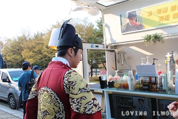 Jung Il-woo in Haechi Episode 24. Behind the Scenes. 4