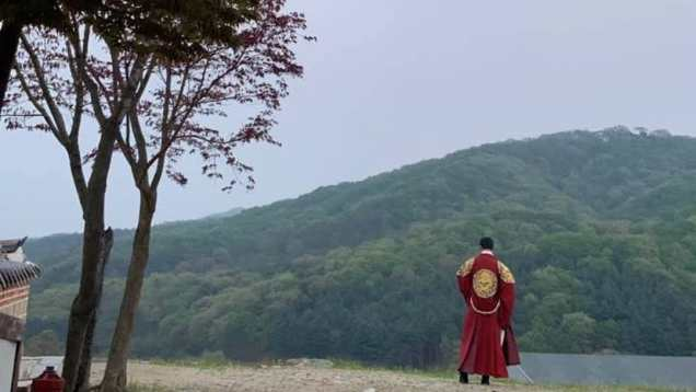 Jung Il-woo in Haechi Episode 24. Behind the Scenes. 7