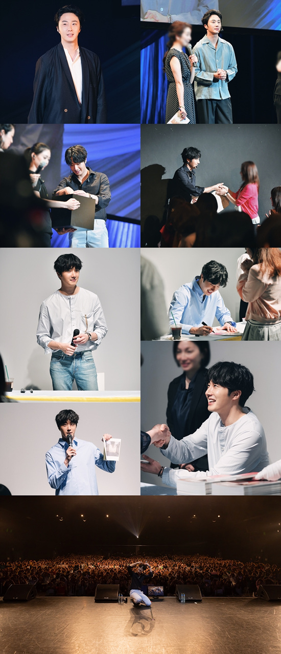 Jung Il-woo in various events in Japan.  May 2019.jpg
