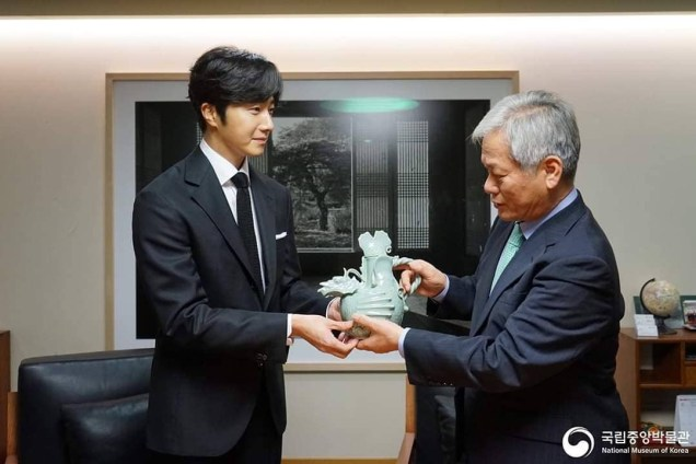 2015 6 142018 12 3 Jung Il-woo is appointed ambassador to the National Museum of Korea. Xtra 5.JPG