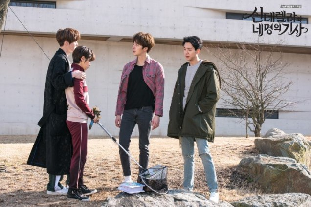 2016 8 19 Jung Il-woo in Cinderella and the Four Knights. Episode 3. Behind the Scenes. Cr. Various. 15