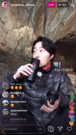 2019-6-25 Jung Il-woo live from Gangwon-do, South Korea for KBS. 10