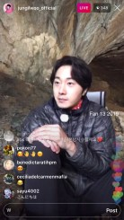 2019-6-25 Jung Il-woo live from Gangwon-do, South Korea for KBS. 41