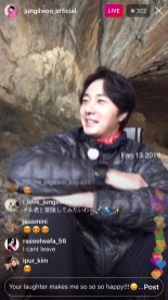 2019-6-25 Jung Il-woo live from Gangwon-do, South Korea for KBS. 70