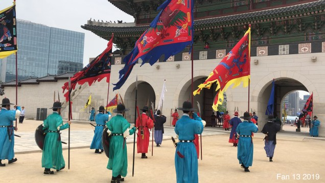 2019 6 9 The Change of the Guard at Gyeongbokgung Palace. By Fan 132