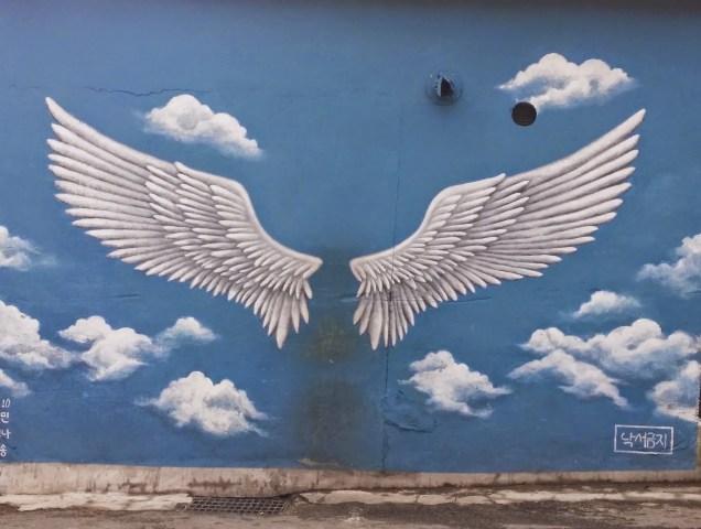 2019 8 10 Ihwa Mural Village in Seoul. By Fan 13. 14.9