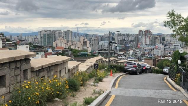2019 8 10 Ihwa Mural Village in Seoul. By Fan 13. 5