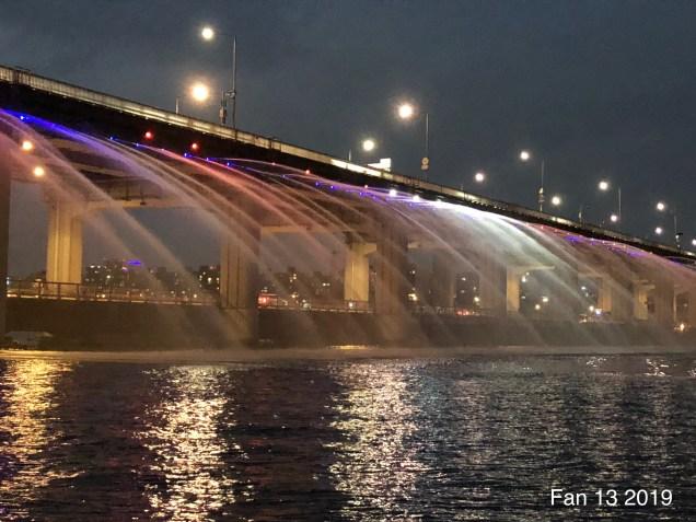 2019 Banpo Rainbow Bridge and Floating Island by Fan 13.5
