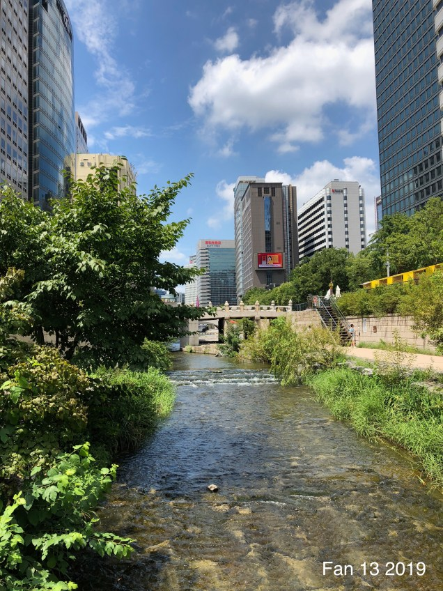 2019 Cheonggyecheon Stream by Fan 13. 9