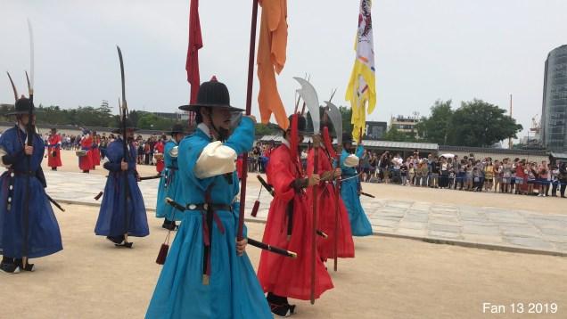 Gyeongboksung Palace. Change of the Guard.  www.jungilwoodelights.com  Cr. Fan 13. 2019 57.JPG