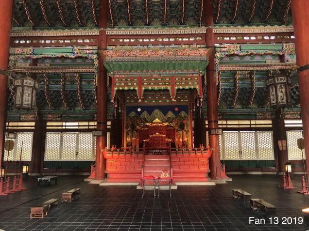 Gyeongboksung Palace. www.jungilwoodelights.com Cr. Fan 13. 2019 14