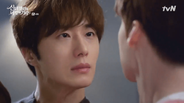 Jung Il-woo in Cinderella and the Four Knights. Episode 4. Cr. tvN Screen Captures by Fan 13. 100