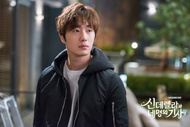 Jung Il-woo in Cinderella and the Four Knights. Episode 5. Cr. tvN Website Photos 3