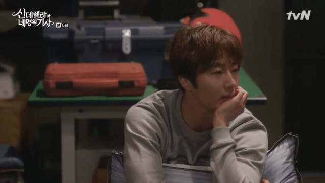 Jung Il-woo in Cinderella and the Four Knights. Episode 6. Cr. tvN Screen Captures by Fan 13. 20