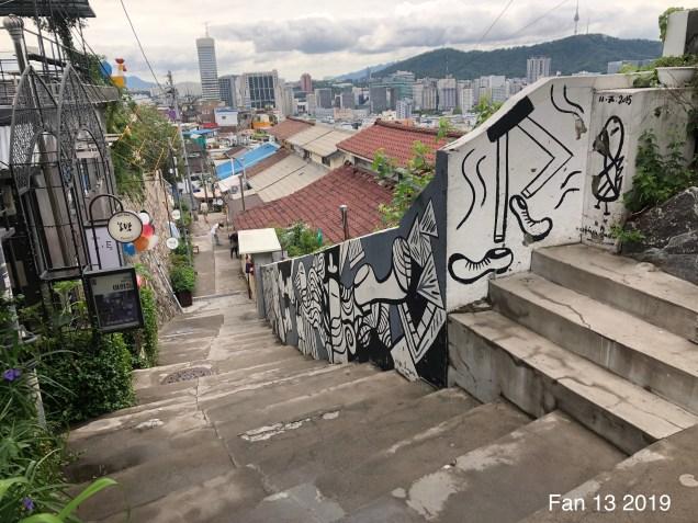 The Ihwa Mural Village in Ihwa-dong, Jongno-gu, Seoul by Fan13. 2019 5.JPG