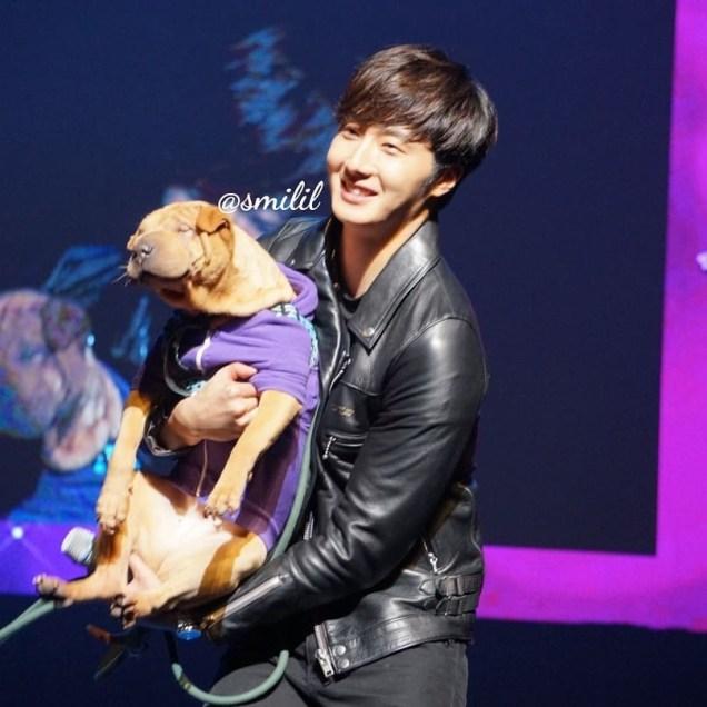 2014 11 22 Jung II-woo in his Fourth Korean Fan Meet. Cr. smilly_smilil 3