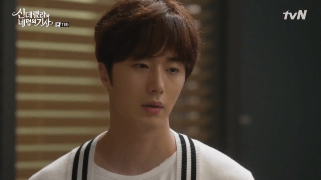 2016 9 16. Jung Il-woo in Cinderella and the Four Knights Episode 11. Cr. KBS. 34